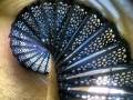 Beaver Head Lighthouse spiral staircase