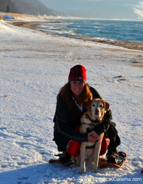 Winter Snowshoe Hike At North Bar Beach