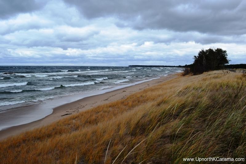 Lake Superior Gales of November 2013 M28 Roadside scenice outlook