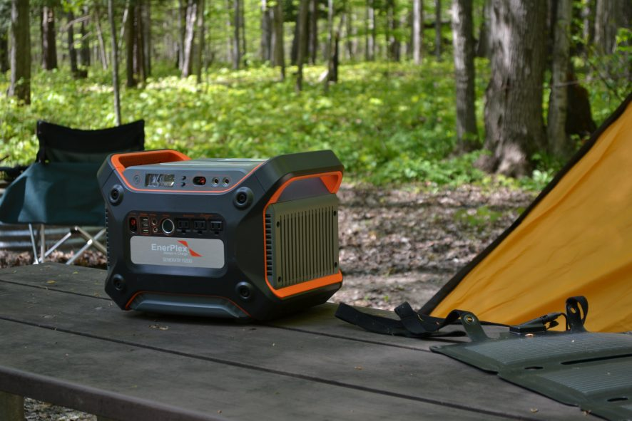 Review: Life is Better Outside! EnerPlex Generatr™ 1200 and Commandr 20™ #AlwaysInCharge